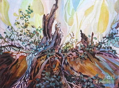 Emphasize Painting - On My Morning Walk by Joan Clear