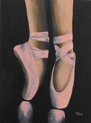 Swan Lake Ballet Painting - On Point IIi by Torrie Smiley