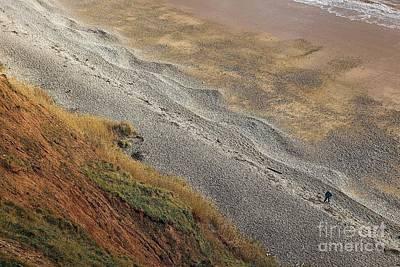 On The Beach Print by Gary Bridger