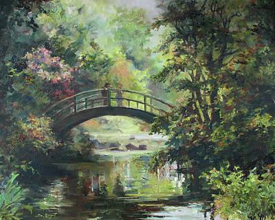 On The Bridge Print by Tigran Ghulyan