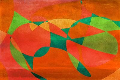 Anticipation Digital Art - On The Brink by Bonnie Bruno