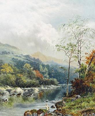 Dee Painting - On The Dee by William Henry