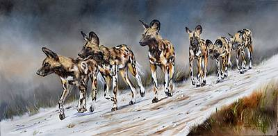 Painting - On The Hunt by Vanessa Lomas