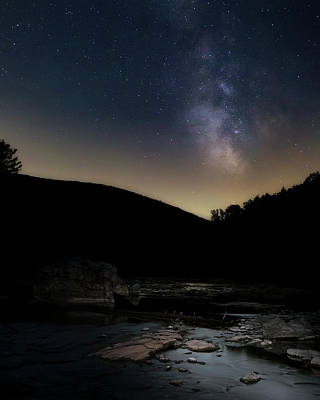 Galaxies Photograph - On The River 2016 by Bill Wakeley