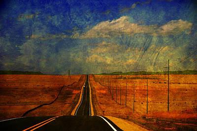 On The Road Again Print by Susanne Van Hulst