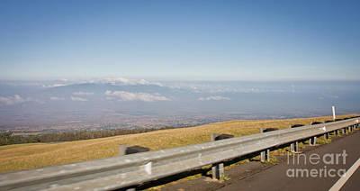 Sky Photograph - On The Road To Maui Haleakala Summit by Denis Dore