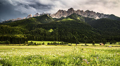 Mountains Photograph - On The Road by Yuri Santin
