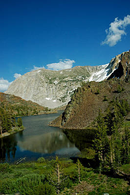 Nevada Photograph - On The Tioga Pass Road by LeeAnn McLaneGoetz McLaneGoetzStudioLLCcom