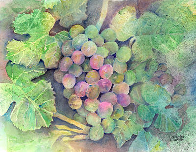 On The Vine Print by Arline Wagner