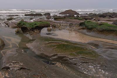 Oregon Photograph - Ona Beach Stone Whale by Loree Johnson