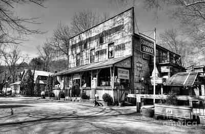 Southern Indiana Photograph - Once Upon A Story Black And White by Mel Steinhauer