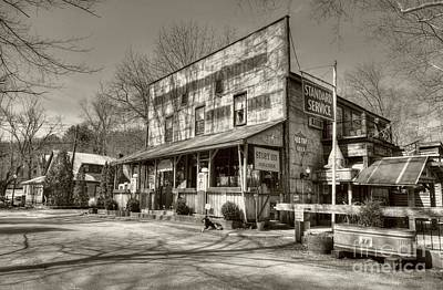 Southern Indiana Photograph - Once Upon A Story Sepia Tone by Mel Steinhauer