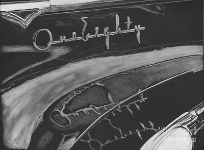 Scratchboard Drawing - One Eighty by Matthew Jarrett