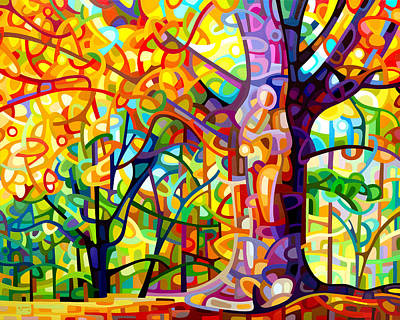 Sunlight Painting - One Fine Day by Mandy Budan