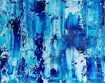 Drips Painting - One Of A Kind by Catalina Walker