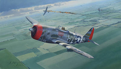 Thunderbolt Painting - One Of The Last by Steven Heyen
