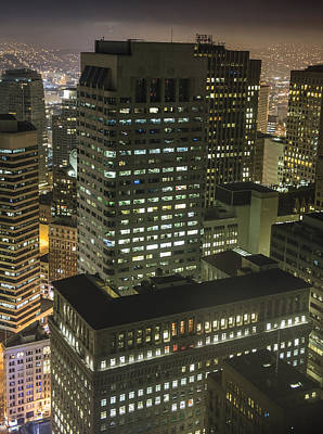 One Sansome Street - Citigroup Center In San Francisco Print by David Oppenheimer