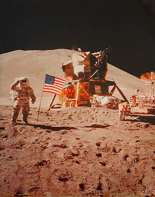 One Small Step For Man..... Print by Jayme Pierce