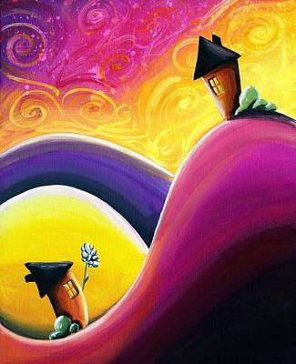Romeo Painting - One Song by Cindy Thornton