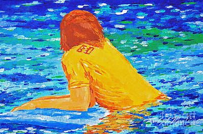One With The Sea Original by Art Mantia