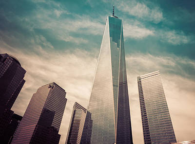 One World Trade Center New York City Print by Robert Bellomy