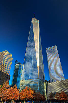 One World Trade Center Print by Rick Berk