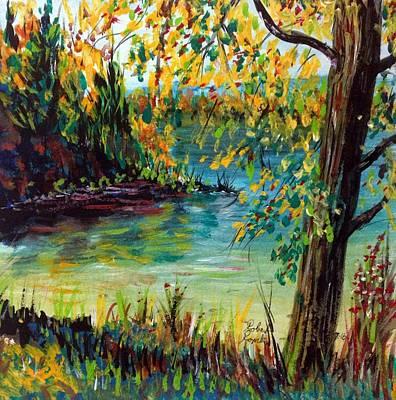 Onota Lake Original by Robert Rombeiro