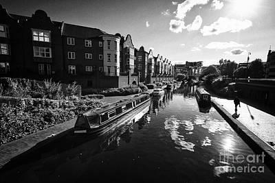 oozells street loop area birmingham canal navigations brindleys old main line Birmingham UK Print by Joe Fox
