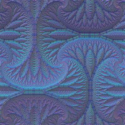 Tessellation Digital Art - Opalescence by Lyle Hatch
