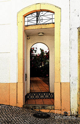 Rose Photograph - Open Doorway by Louise Heusinkveld