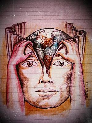 Open Mind For A New World Original by Paulo Zerbato