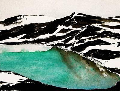 Open Water Print by Carolyn Doe