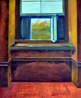 Hope Painting - Open Window by Michelle Calkins