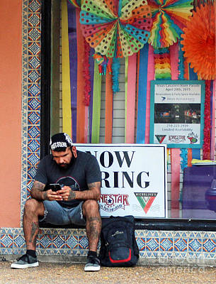 Now Hiring Photograph - Openings by Joe Jake Pratt