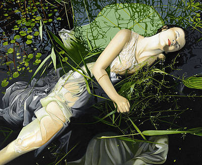 Painting - Ophelia by Andrew Harrison