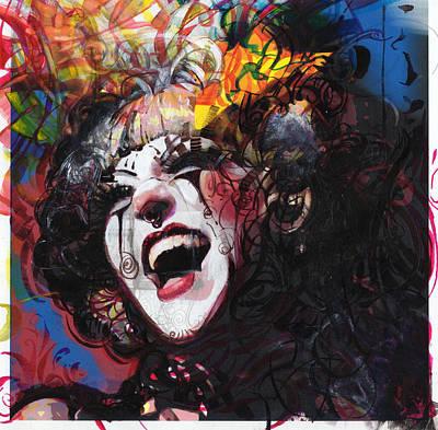 Ophelia Remixed Print by Eddie Rifkind