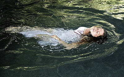 Floating Girl Photograph - Ophelia by Venetia Featherstone-Witty