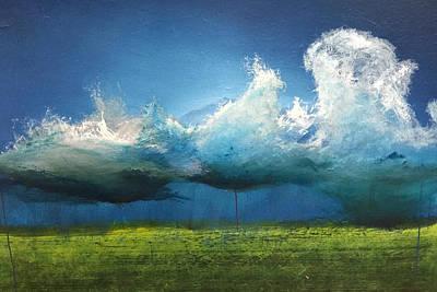 Derek Painting - Opt.15.1.  Storm by Derek Kaplan