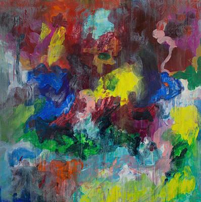 Derek Painting - Opt.68.15 Dreaming With Music by Derek Kaplan