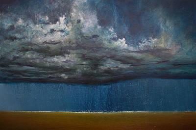 Derek Painting - Opt.78.15 Storm by Derek Kaplan