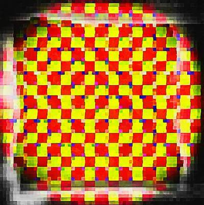 Digital Art - Optical Movements by Mario Carini