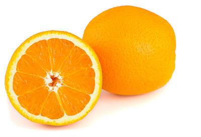 Sour Mixed Media - Orange Fruit by Boyan Dimitrov