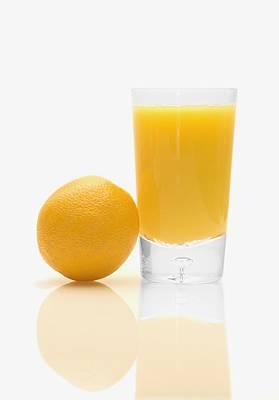 Orange Juice Print by Darren Greenwood
