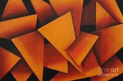 Orange Pop Original by Wayne Cantrell