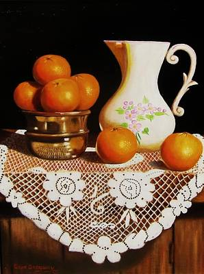 Orange You Sweet  Print by Gene Gregory