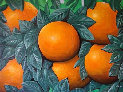 Oranges Original by Ksusha Scott