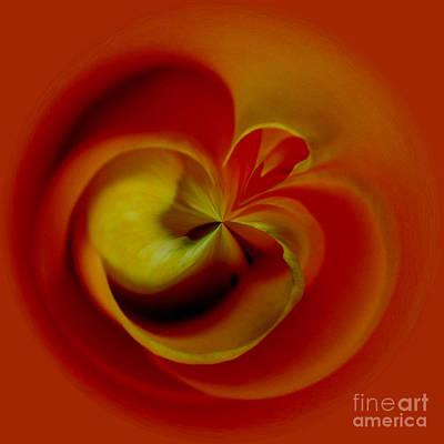 Flower Abstract Digital Art - Orb 2 by Elena Nosyreva