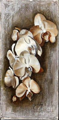 Orchid Ladder Print by Daniela Easter