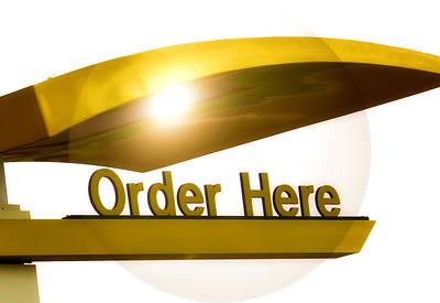 Order Up Print by Karen M Scovill