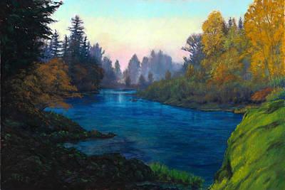 Oregon Santiam Landscape Print by Michael Orwick